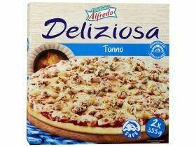 Pizza au thon 2 piècesx355g