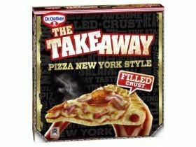 Dr. Oetker La pizza à emporter Style New York / Super fromage 480g, 500g