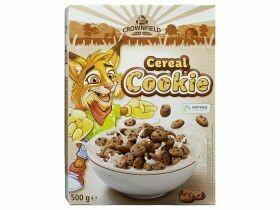 Biscuits croquants au tigre et aux céréales