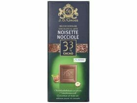 Chocolat premium divers types 125g