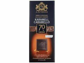 Chocolat noir divers types 125g
