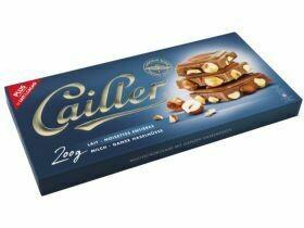 Tablettes de chocolat Cailler divers types 200g