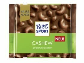 Classe de noix / cacao Ritter Sport divers types 100g