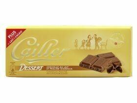 Tablettes de chocolat Cailler divers types 100g