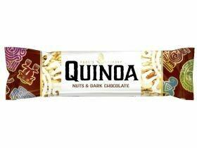 Barre bio au quinoa de Pablo aux noix et au chocolat 25g
