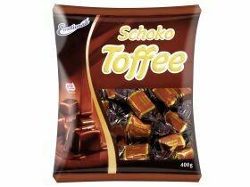 Caramels au chocolat 400g