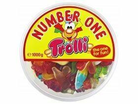 Bonbons gélifiés Trolli Trolli n ° 1 1000g