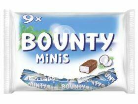 Mars / Snickers / Bounty / Twix / Voie lactée, Minis 275g