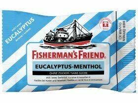 Ami du pêcheur Eucalyptus menthol du pêcheur sans sucre 25g