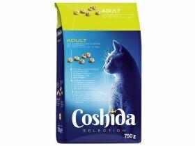 Nourriture sèche premium pour chats intérieur extérieur 750g