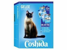 Nourriture humide premium pour chat en gelée / sauce 12x100g