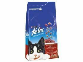 Felix nourriture sèche pour chats Boeuf / poulet 2kg