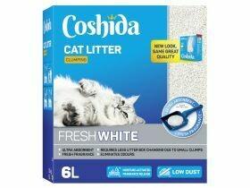 Litière pour chat ultra blanc agglomérant 6L