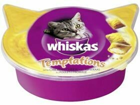 Collations pour chats Whiskas divers types 60g