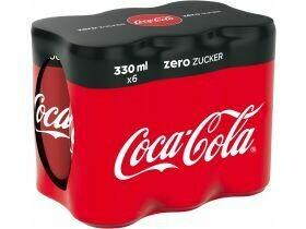 Coca-Cola Zero 6x0.33L