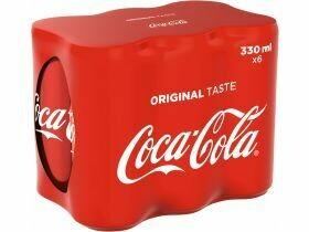 du Coca 6x0.33L