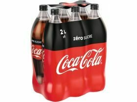 Coca-Cola zéro 2L