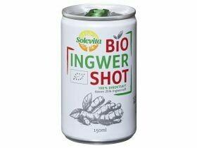 Shot de gingembre bio 150 ml