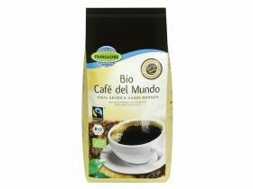 Grains de café biologiques issus du commerce équitable100% arabica 500g