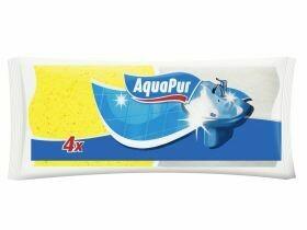 Éponge de nettoyage / récurage pour le bain 4 pièces
