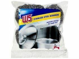 Nettoyant pour casseroles en acier inoxydable 4 pièces