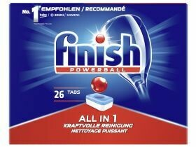 Finir le liquide vaisselle Powerball All-in-1, 26 onglet 483g