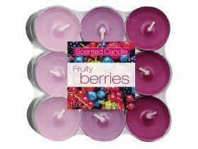 Bougies chauffe-plat parfumées assorti 18 pièces