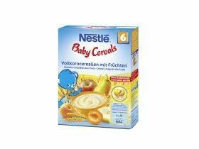 Nestlé Baby Cereals Céréales à grains entiers avec fruits 250g