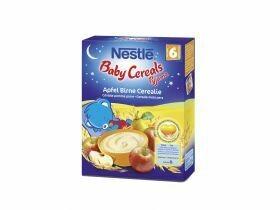 Pyjama Nestlé Baby Céréales Céréales pomme et poire 250g