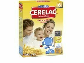Bouillie au lait Nestlé Cerelac 500g