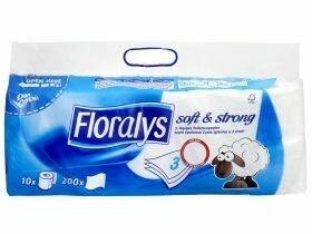 Papier hygiénique 3 plis FSC feuilles