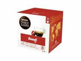 Capsules de café Nescafé Dolce Gusto Espresso Buondi 30 pieces