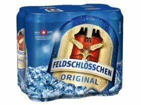 Bière originale Feldschlösschen 4,8% vol. 6x0.5L