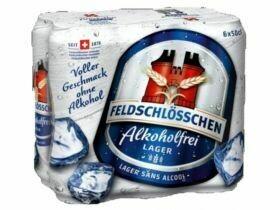 Bière Feldschlösschen non alcoolique 6x0.5L