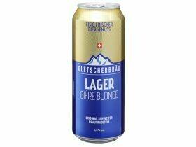 Bière lager suisse 4,8% vol. par 6x0.5L