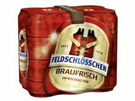 Bière Feldschlösschen fraîchement brassée 5% vol. 6x0.5L