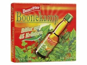 Bitters Boonekamp 44% vol.- 4pcsX0.02L