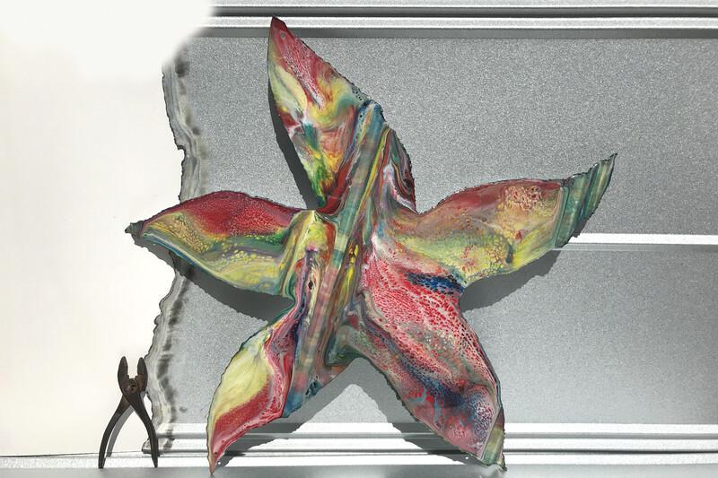 """Starfish (29""""x29"""")"""