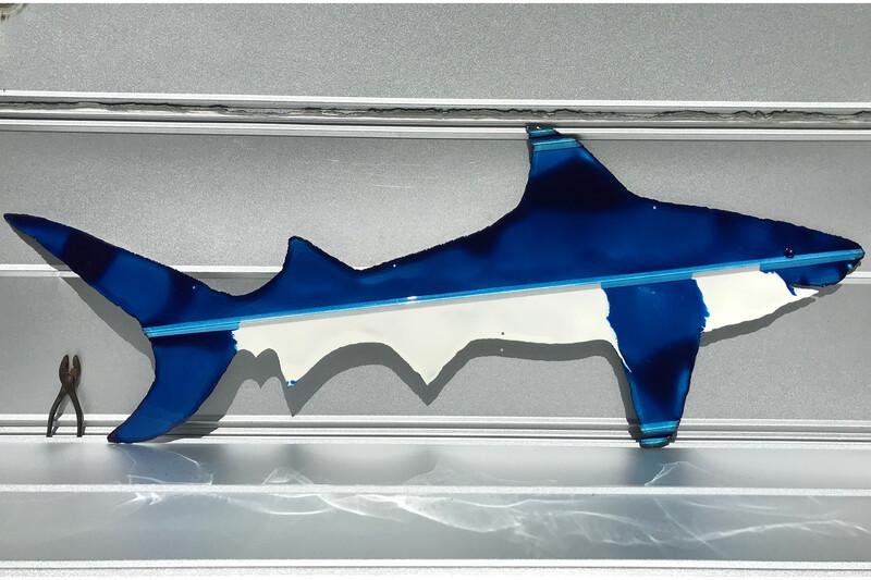 "Sharks (66""x27"")"
