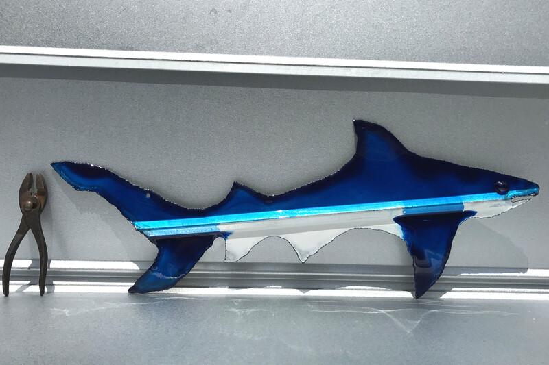 "Sharks (27""x11"")"