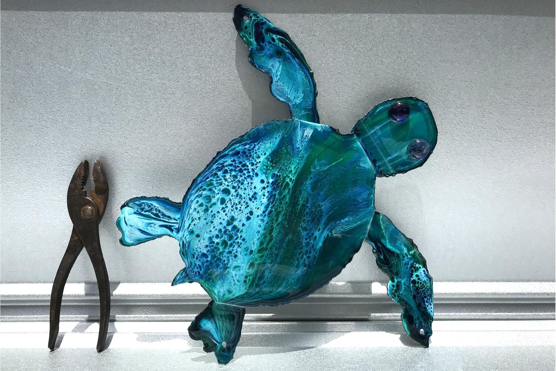 "Turtles (13""x11"")"