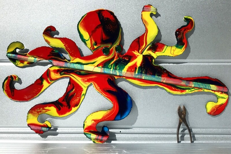 "Octopus (39""x23"")"