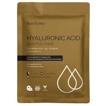 Hyaluronic Acid Gold Sheet Mask