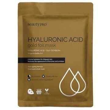 Hyaluronic Acid Gold Sheet Mask