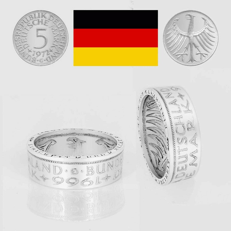 Ring 5 DM    Prägejahr - außen 1951 – 1974