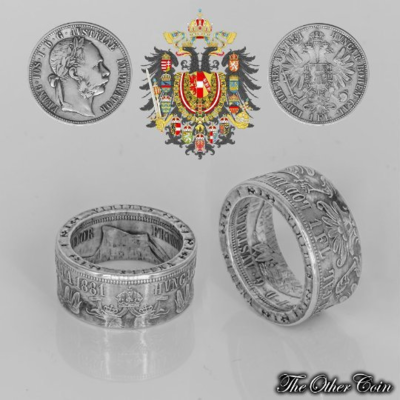 Ring 1 Florin (Gulden) Haus Habsburg