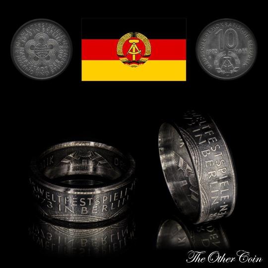 Ring 10 Mark der DDR - Weltfestspiele in Berlin - 1973