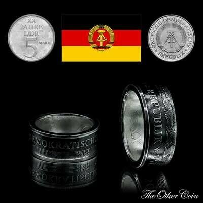 Ring 5 Mark der DDR - 20. Jahrestag der DDR - 1969