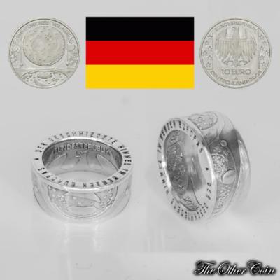 Ring 10 Euro Himmelsscheibe von Nebra