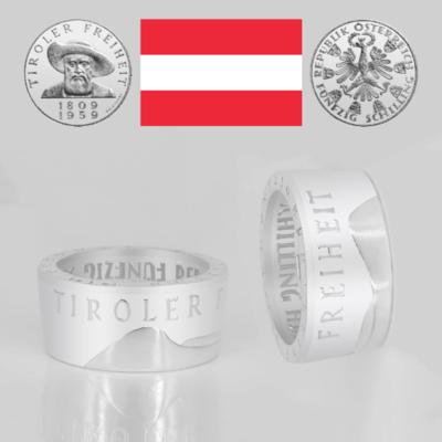 Ring 50 Schilling - Tiroler Freiheit 1959